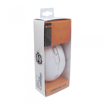 Мишка, Zorn Wee S122 BK, Оптична-Бяла