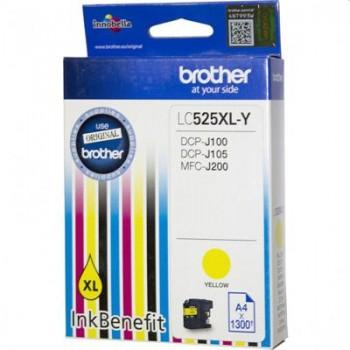 BROTHER LC525XL-Yellow - Оригинална глава за принтер