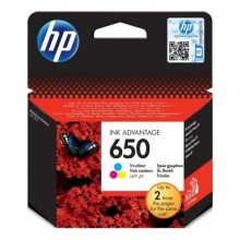 HP 650Color - Оригинална глава за принтер CZ102AE BHK